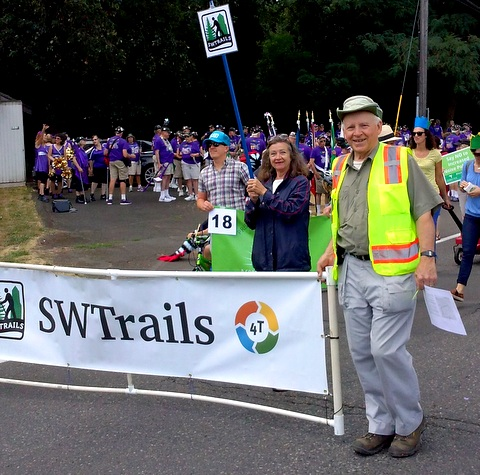 SW Trails in the Multnomah Days Parade.