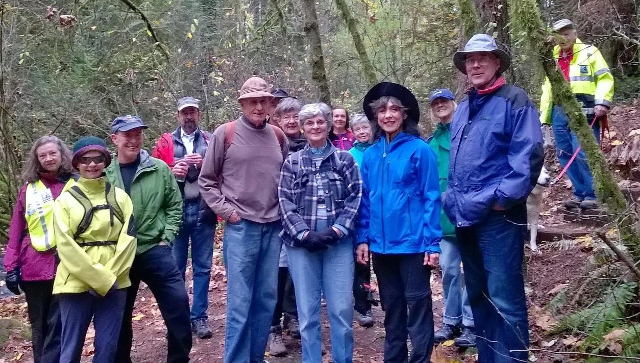 SW Trails walkers November 2015
