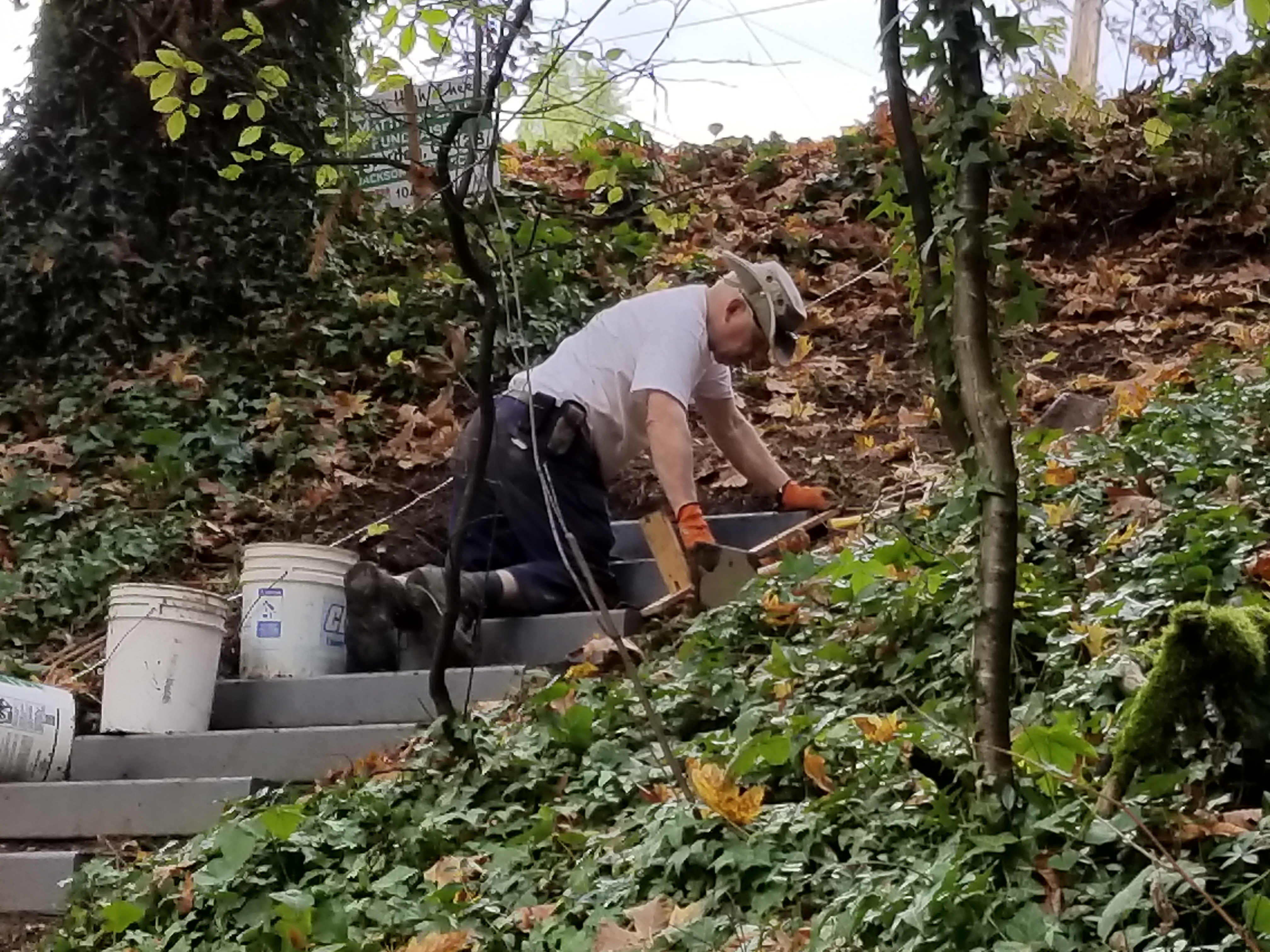 SW 25th stairs - Don