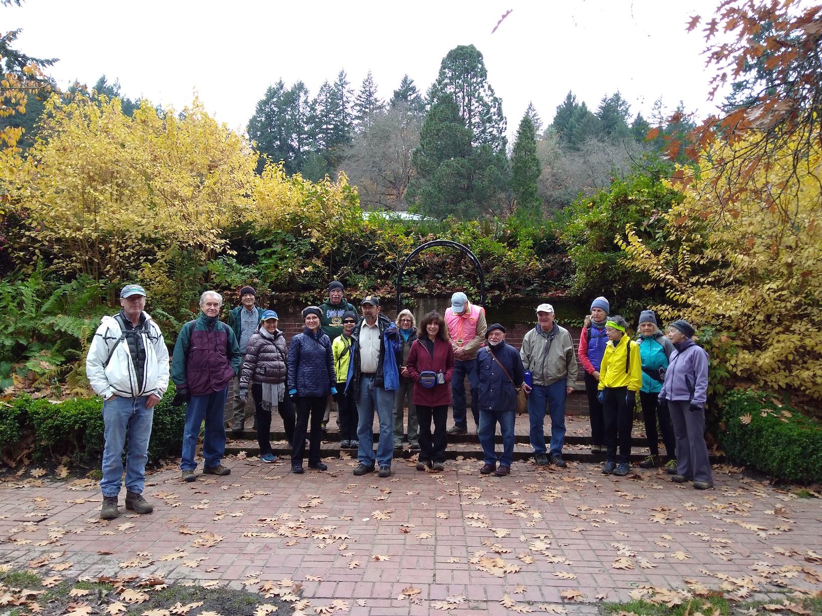 Nov 10 SW Trails Hike Arboretum