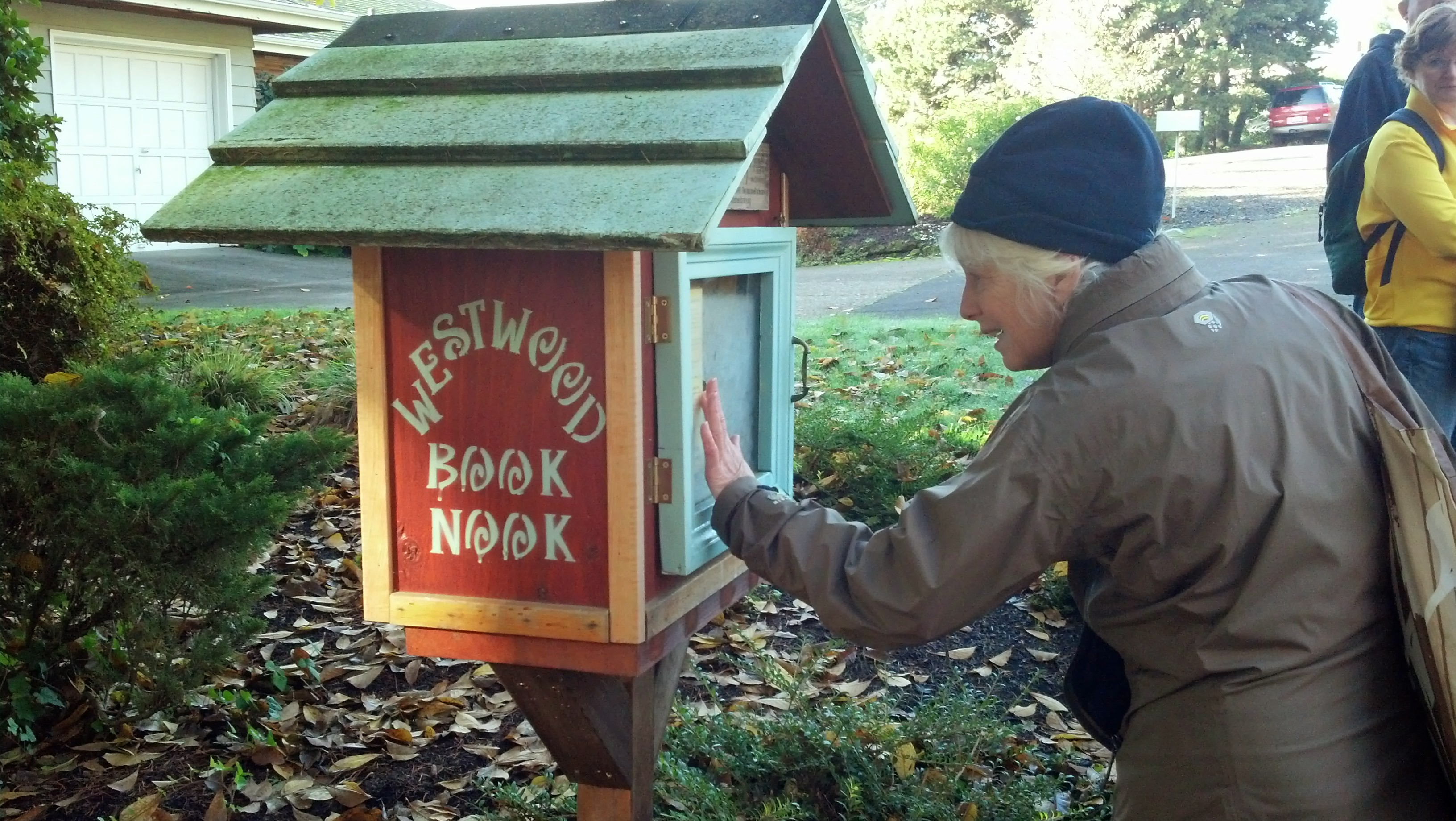 Westwood Book Nook - a Little Free Library on SW Westwood near SW 14th